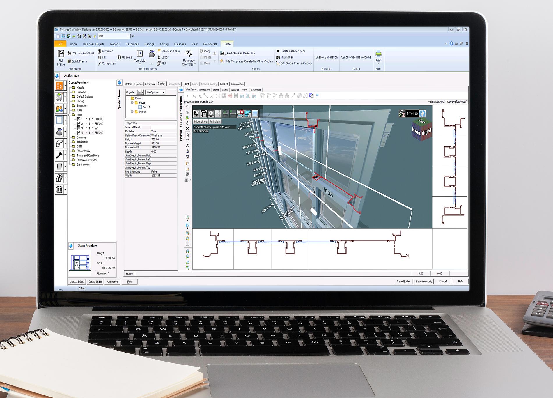 Engineering Validation Window And Door Software
