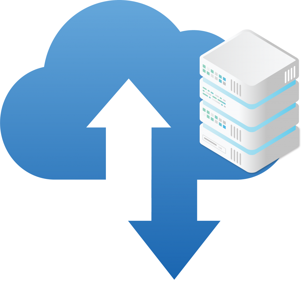 Cloud Hosted cloud image