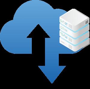 Cloud Hosted cloud image